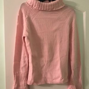 Light pink sweater in size L